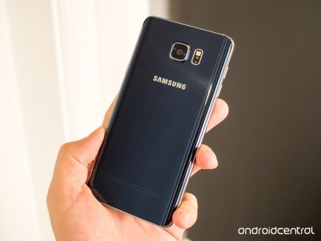 Galaxy note 5 blue back full