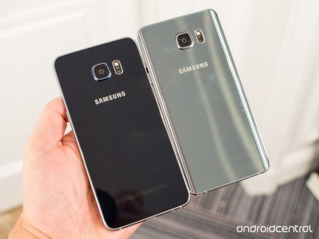 Galaxy s6 edge plus note 5 together
