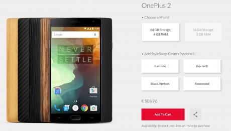 Oneplus 2 store