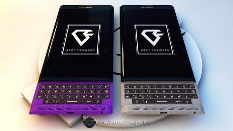 BlackBerry Venice renders