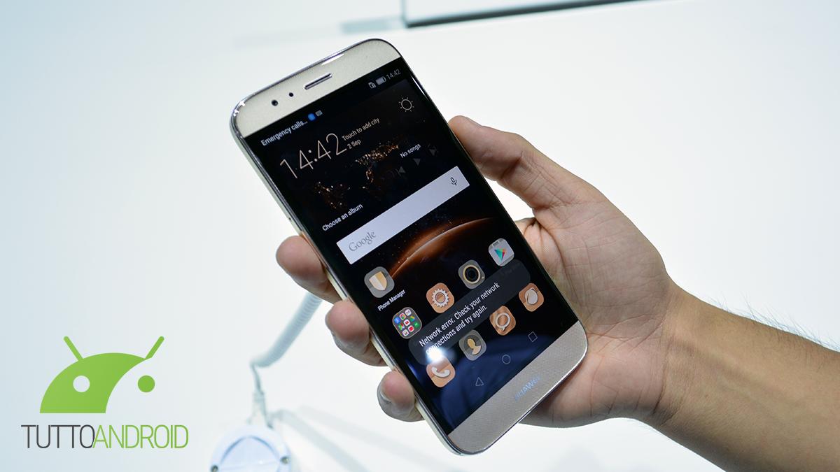 Huawei G8 riceve finalmente Marshmallow (EMUI 4.0)