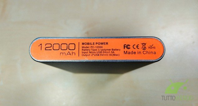 IntoCircuit Power Castle 12000mAh 4