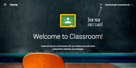 Welcome to Google Classroom1