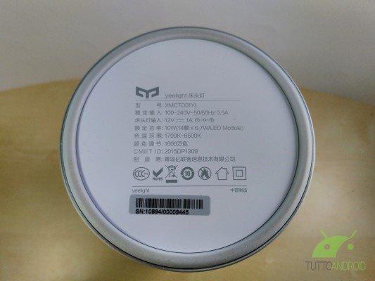 Xiaomi Yeelight Bedside Lamp 5
