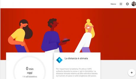 Google fit web