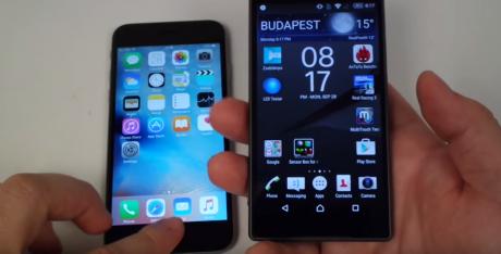 Iphone 6s vs xperia z5