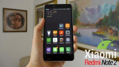 Xiaomi redmi note 2 cover