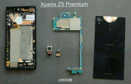 Xperia z5 premium teardown
