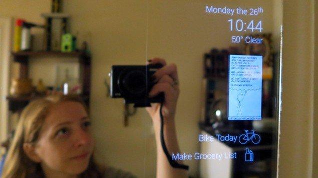Costruire uno specchio intelligente riciclando un vecchio tablet