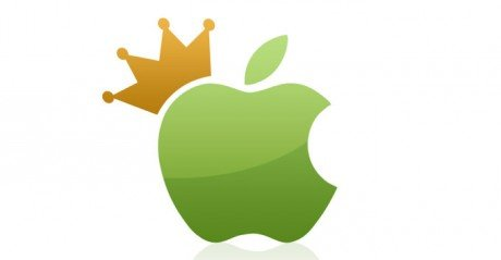 Apple King head