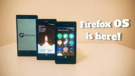 FirefoxOS Xperia