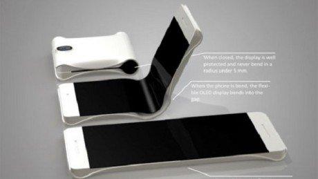 Folding phone concept