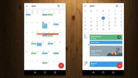 Google Calendar a