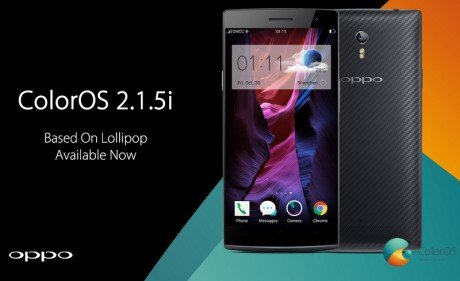 Oppo ColorOS 2.1.5i Find 7 and 7a