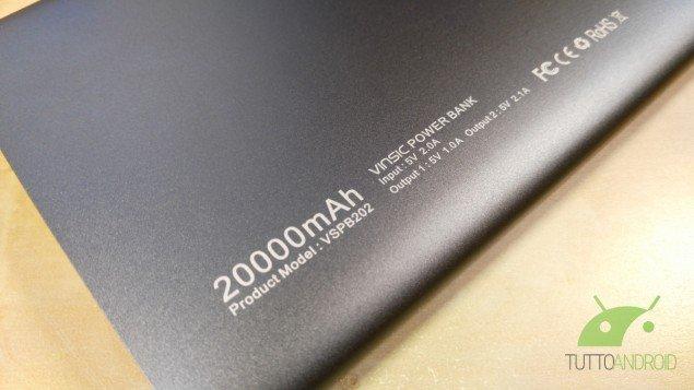Vinsic Power Bank 20000mAh 2