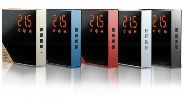 momit Home Thermostat ottimizza il riscaldamento di casa