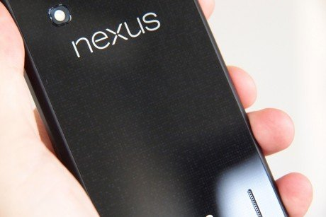 Google Nexus 4 Review back angle