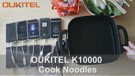 K10000 cook noodles