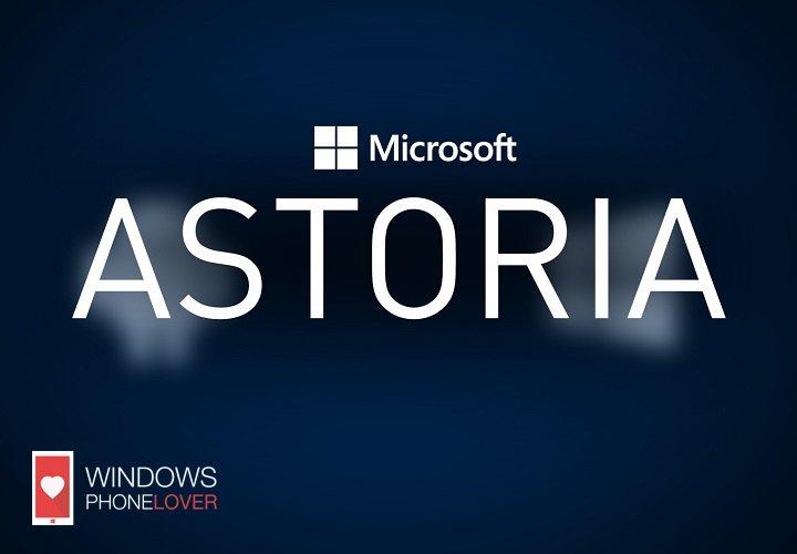 microsoft astoria