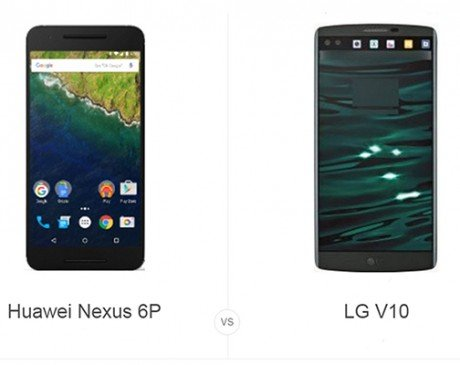Nexus 6P vs LG V10
