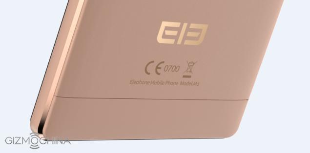 elephone-m3-gold