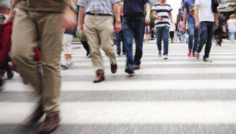 Gente che cammina