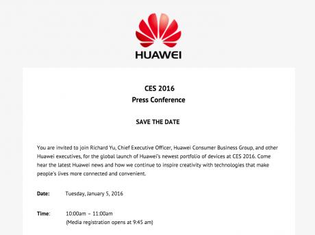 Huawei ces2016