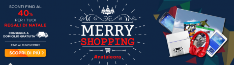Merry shopping unieuro