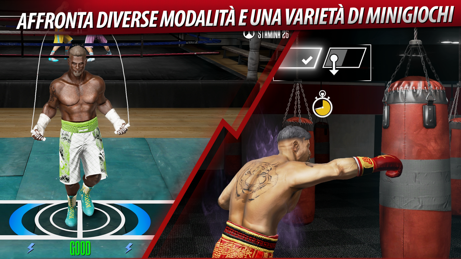In Real Boxing 2 CREED saremo allenati da Rocky Balboa ...