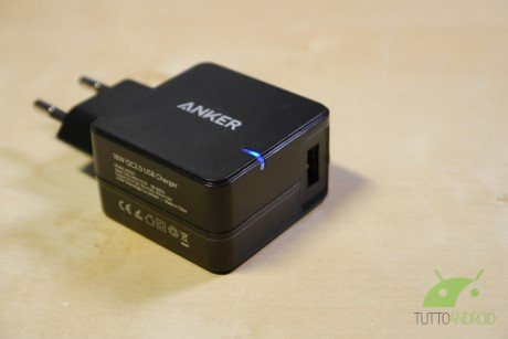 Anker caricatore 18W Qualcomm Quick Charge 2.0 2