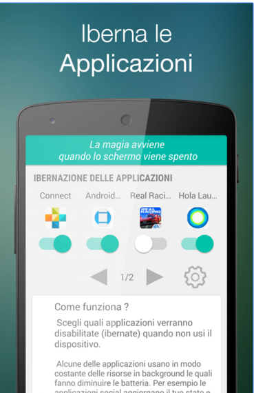 Ibernare app android