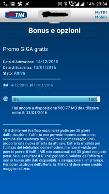 TIM Promo1GB
