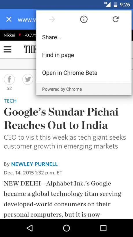 google-now-schede-chrome-personalizzate