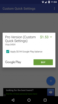 google-play-partial-credit