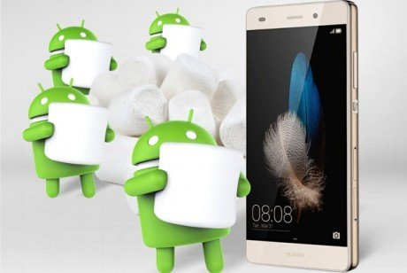 Android 6.0 Marshmallow su Huawei P8 Lite