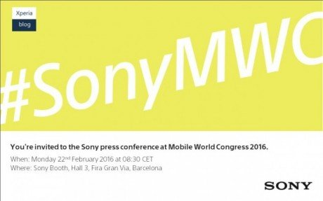 MWC 2016 Sony Conference 640x399