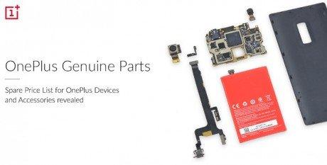 OnePlus Spare Parts