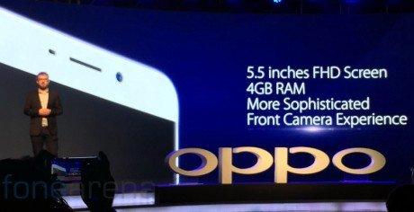Oppo F1 Plus India launch