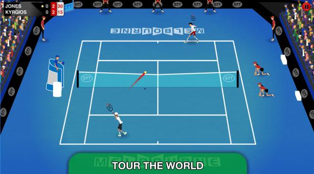 Stick Tennis A