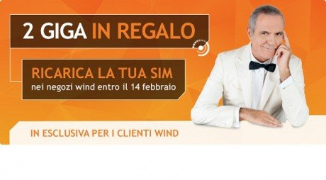 Wind Ricarica 2 GB Traffico Dati