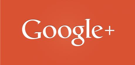 Google plus logo rosso