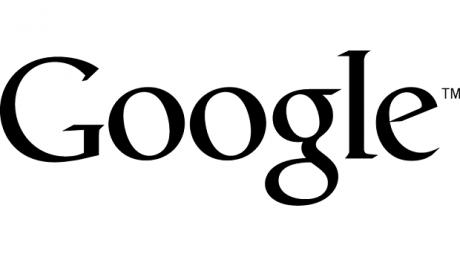 Google logo flat black