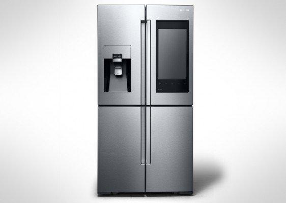 Il nuovo mega-frigo di Samsung si gestisce con lo smartphone ...