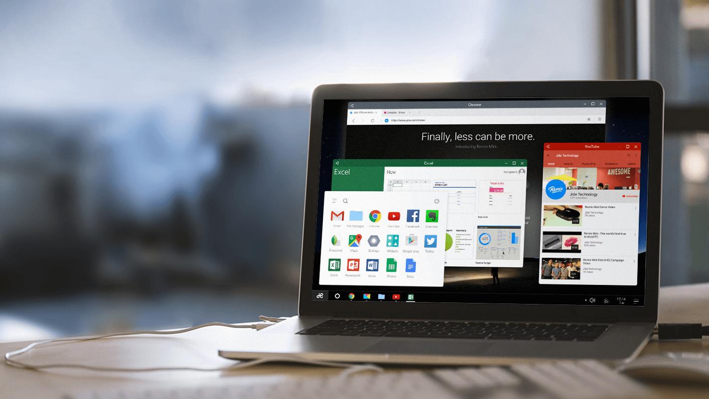 Jide annuncia Remix OS per PC x86: sarà scaricabile gratis!