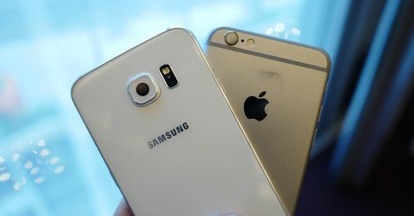 Samsung galaxy s6 vs iphone 6 6 e1452799600572