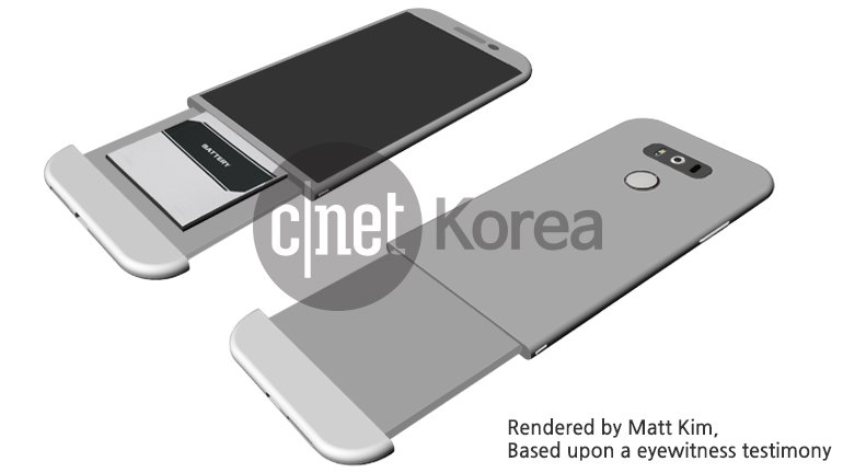 LG G5 in foto con il Magic Slot