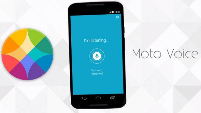 Moto voice disponibile anche in italiano sul play store for Voice assistant italiano
