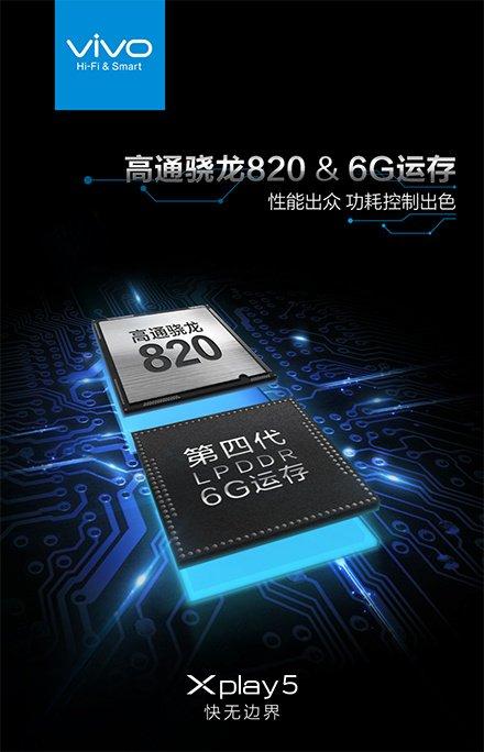Vivo XPlay 5 6GB RAM