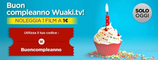 Wuaki.tv compleanno