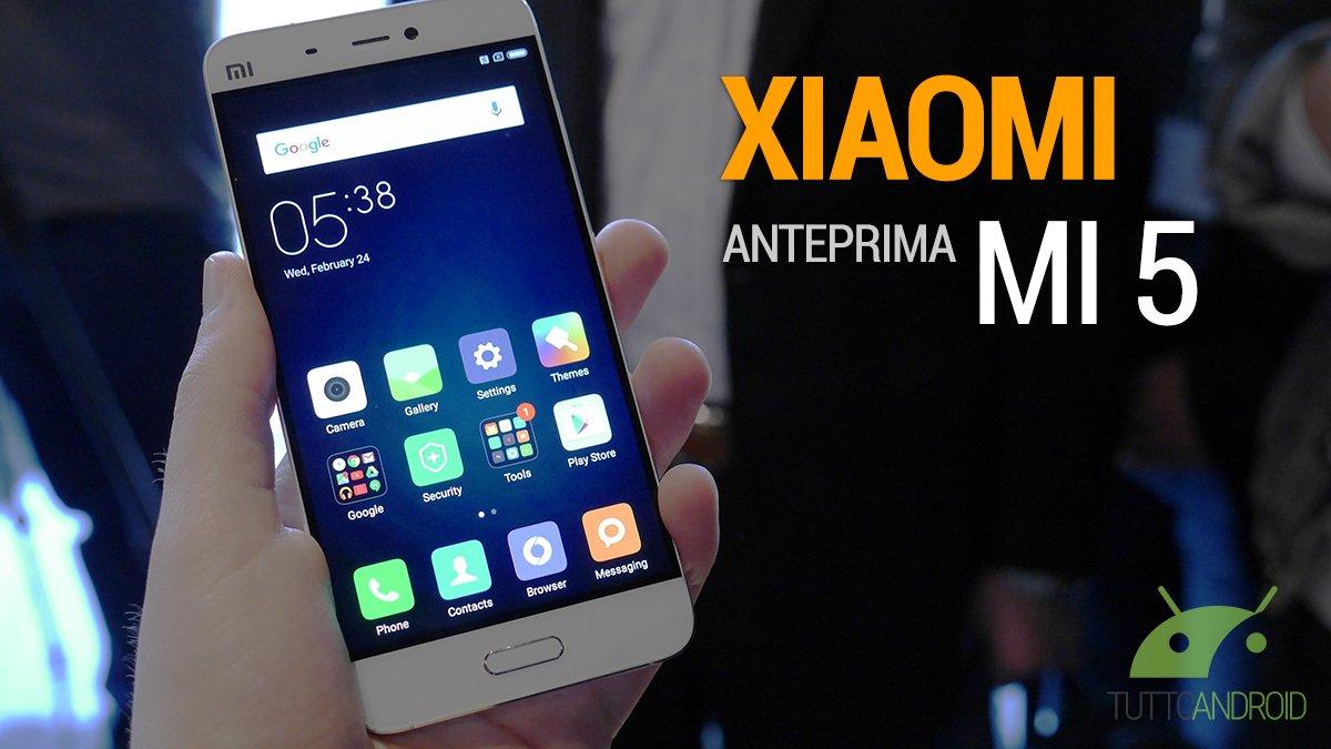 Xiaomi Mi4s, caratteristiche tecniche e prezzo